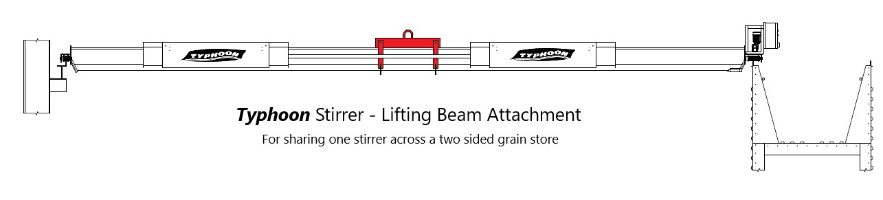 Typhoon Stirrer - Lifting Beam Attachment