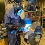 Typhoon Fan welding