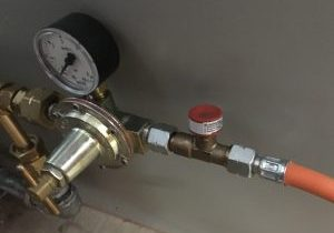 Gas Burner Regulator